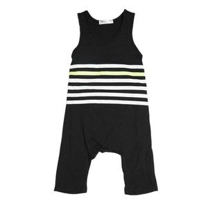 Joah Love One Pieces - !! NWT Black Striped Playsuit by Joah Love